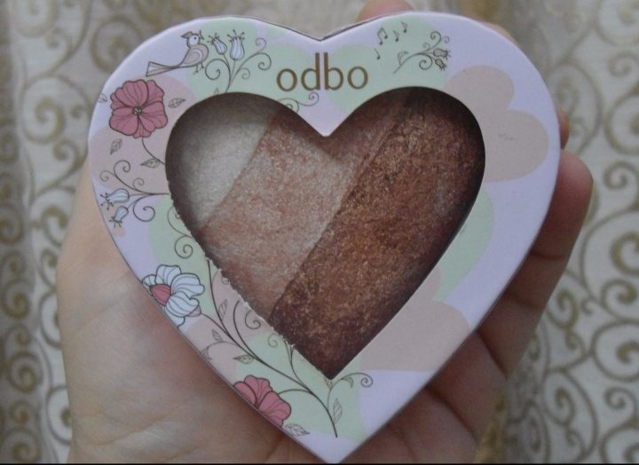 Odbo Sweet Hearts Highlighter 05 Review