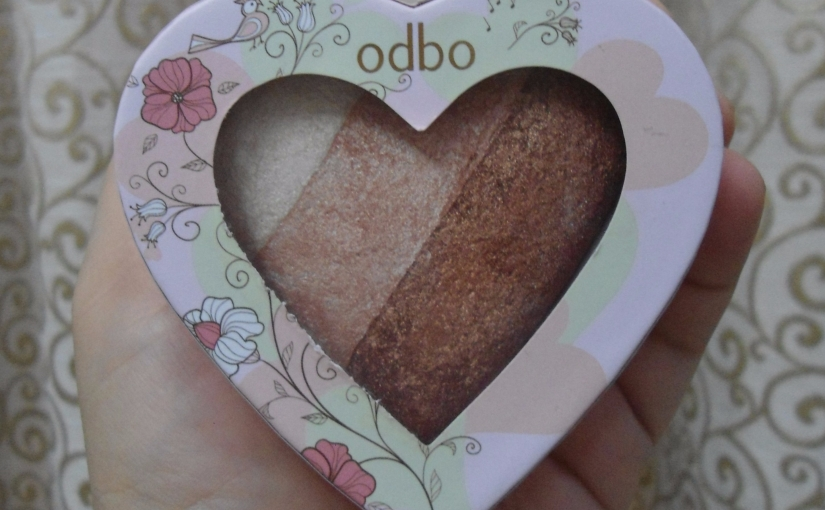 Odbo Sweet Hearts Highlighter 05Review