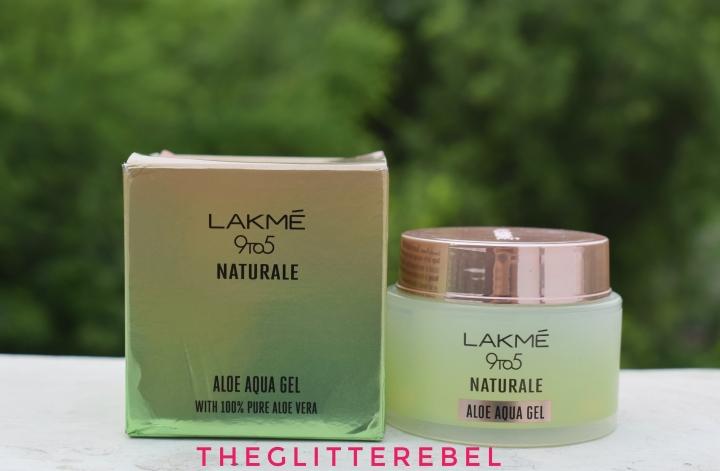 LAKME 9to5 NATURALE Aloe Aqua Gel with 100% Pure Aloe VeraReview