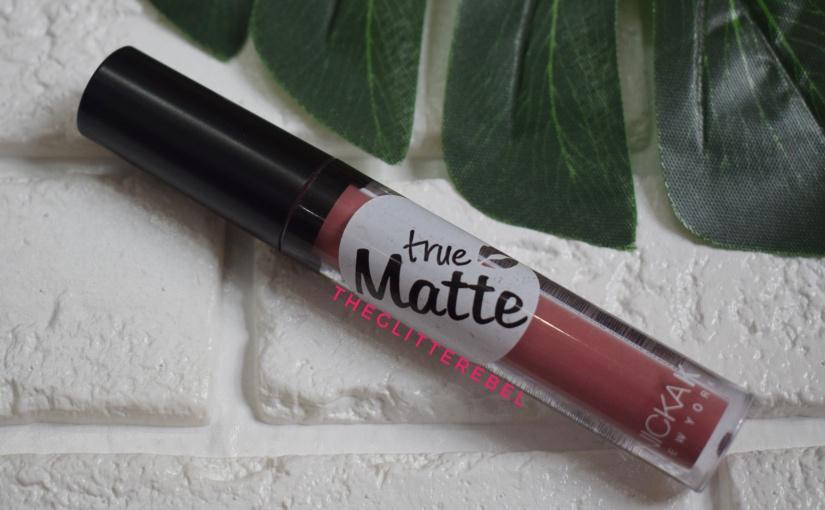 Nicka K True Matte Liquid Lipstick Turkish Rose(NTM10)Review