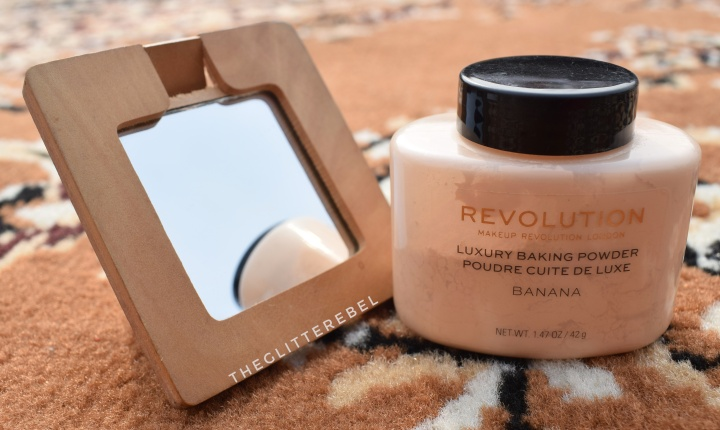 Makeup Revolution Luxury Baking Powder BANANA Review